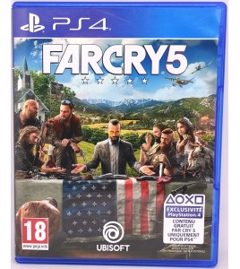 Far Cry 5 Jeu Playstation 4 PS4 sans Notice  Games and Toys