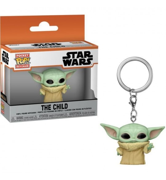 Star Wars The Mandalorian porte-clés Pocket POP! The Child 4 cm