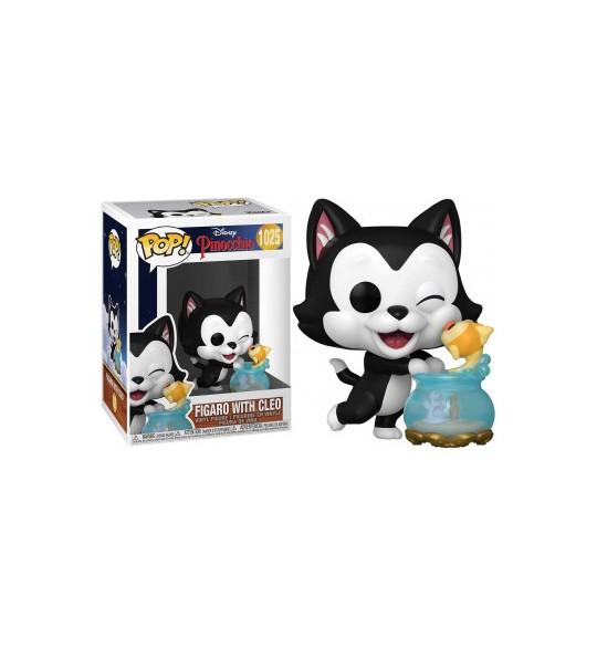 Pinocchio 80th Anniversary Pop Disney 1025 Figaro With Cleo 9 cm
