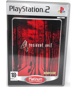 Resident Evil 4 Platinum Jeu Playstation 2 PS2 avec Notice Games And Toys