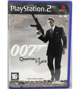 James Bond 007 : Quantum of Solace Jeu Playstation 2 PS2 avec Notice