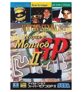 Airton Senna Super Monaco Gp II   sur Mégadrive Japonaise