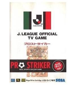 Pro Striker sur Mégadrive Japonaise