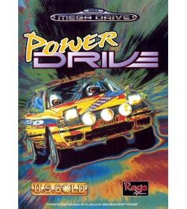 Power Drive  sur  Mégadrive