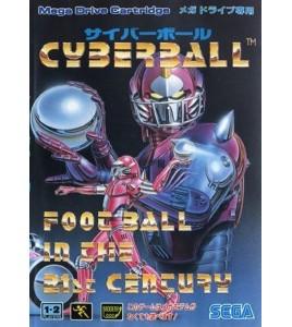 Cyberball  sur Mégadrive Japonaise