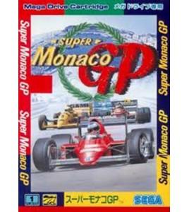 Super Monaco GP sur Mégadrive Japonaise