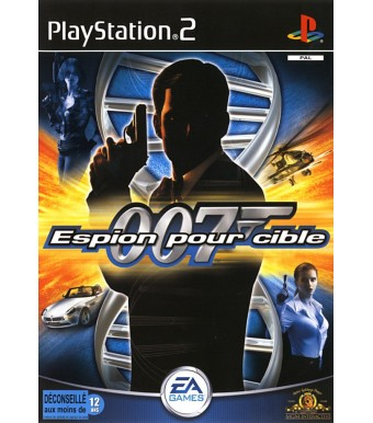 James Bond 007 dans Espion pour Cible sur Playstation 2