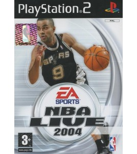 NBA Live 2004 sur Playstation 2