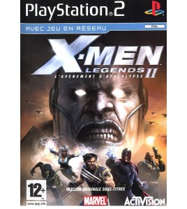X-Men Legends II L'Avénement D'Apocalypse sur Playstation 2