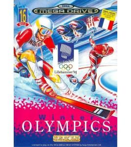 Winter Olympics sur Mégadrive