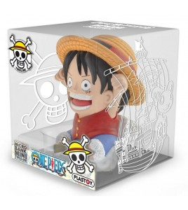 One Piece tirelire PVC Luffy 10 cm