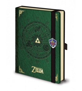 Legend of Zelda carnet de notes Premium A5 Triforce