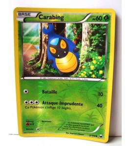 Carte Pokémon CARABING 60 PV 91/08 Holo Reverse Noir Blanc Explorateurs Obscurs