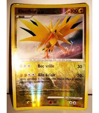 Carte Pokemon Electhor Holo Reverse 100pv 48 147 Games And Toys