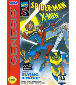 Spider-Man X-Men Mégadrive