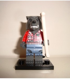 LEGO Minifigures 71010 - Halloween  Monsters - Wolf Guy  Loup-Garou