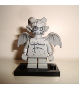 MINIFIGURES MINIFIGURINES LEGO MONSTERS 71010 N°10 LA GARGOUILLE 2015 SERIE 14