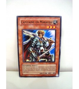 carte yu-gi-oh - capitaine en maraude - 5ds1-fr018 - commune