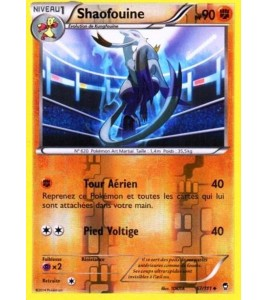 Carte Pokémon XY Poings Furieux 57 111 Shaofouine pv 90