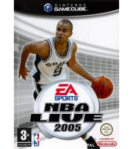 NBA Live 2005 sur  Gamecube