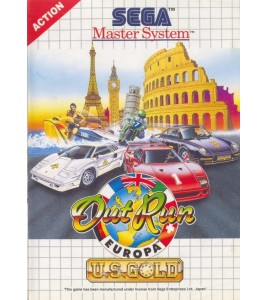 Out Run Europa sur Master System
