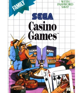 Casino Games sur Master System