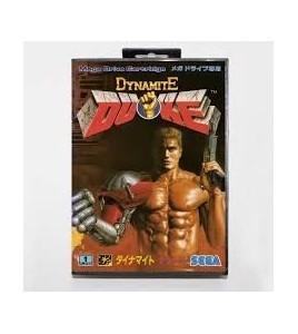 Dynamite Duke sur Mégadrive Japonaise
