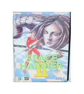 Space Harrier sur Mégadrive Japonaise