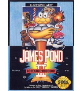 James Pond 2 sur Mégadrive