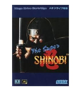 The Super Shinobi sur Mégadrive Japonaise