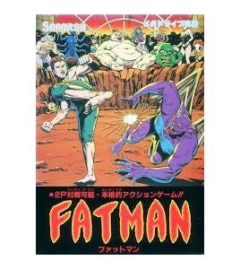 Fatman sur Mégadrive Japonaise