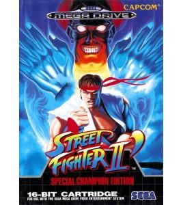 Street Fighter 2 Spécial Champion Edition  sur Mégadrive
