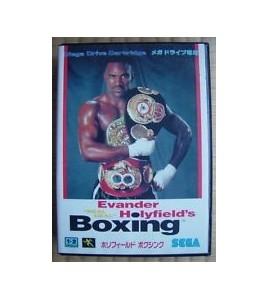 Real Deal Evander Holyfield s Boxing sur Mégadrive Japonaise