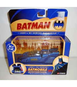 VOITURE CORGI MODELE  77303 BATMAN 1990'S BATMOBILE DC COMICS NEUF