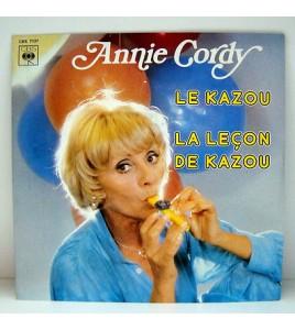 ANNIE CORDY  LE KAZOU  - disque 45 TOURS