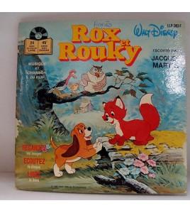 ROX ET ROUKY - WALT DISNEY - LLP 383 F Livre Disque
