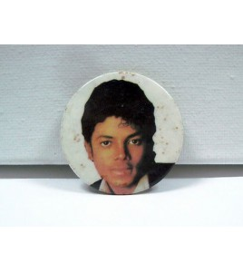 ancien badge michael jackson