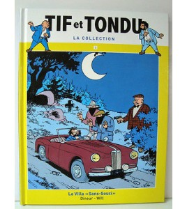 BD TIF ET TONDU LA COLLECTION N°1 . HACHETTE . 2014