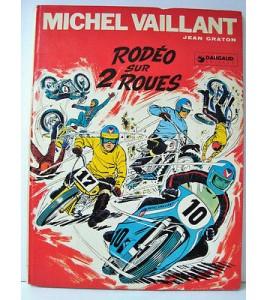 Bande dessinée Michel Vaillant Rodéo sur 2 roues EO 1971