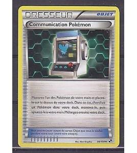 CARTE POKEMON - Dresseur Communication Pokemon 99/114 VF
