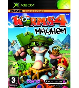 Worms 4 Mayhem sur Xbox