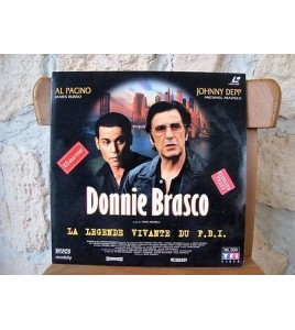 LASERDISC - DONNIE BRASCO  AL PACINO JOHNNY DEEP