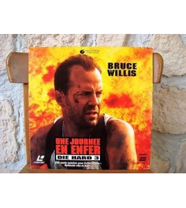 LASERDISC UNE JOURNEE EN ENFER  DIE HARD 3 PAL