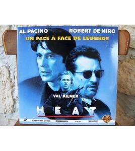 HEAT WS VOST PAL LASERDISC Al Pacino, Robert De Niro, Val Kilmer