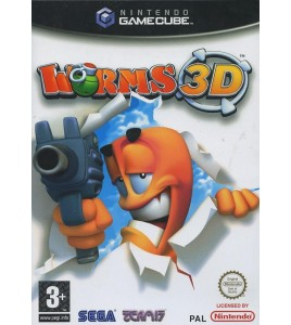 Worms 3D sur  Gamecube