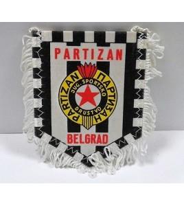 WIMPEL Pennant Fanion football - PARTUZAN BELGRAD