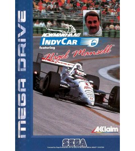 Newman Haas IndyCar featuring Nigel Mansell sur Mégadrive