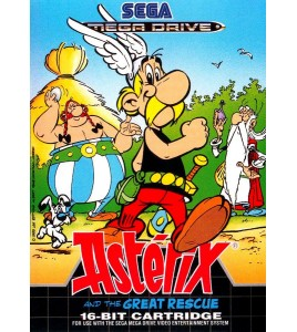Astérix And The Great Rescue sur Mégadrive