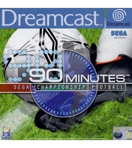 90 Minutes Sega Championship Football sur Dreamcast