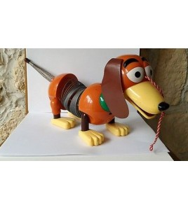 JOUET GRAND CHIEN ZIG ZAG OU SLINKY DOG TOY STORY disney store